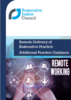Remote Delivery of Restorative Practice  - Additional Practice Guidance